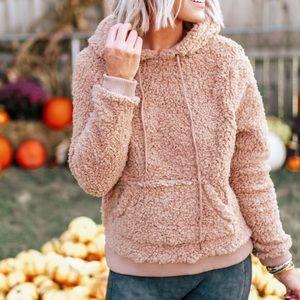 DEEDEE Softest Hoodie Pullover- MAUVE